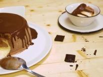 Баварски крем с шоколад