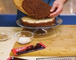 Шоколадова торта с кокос 12