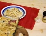 Паста на фурна с пилешко и спанак 7
