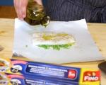 """""""Пакетчета"""" хек със зеленчуци и ароматно масло 7"""
