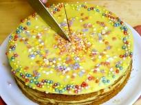 Домашна торта с крем