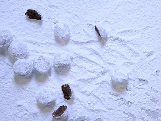 Какаови снежни топки