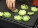 Сандвич с патладжан и зелени домати 2