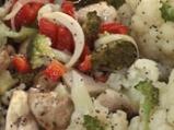 Мариновани броколи и карфиол