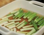 Пилешки дробчета с маринован лук 3