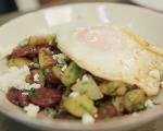 Пролетни картофи с петрохан и яйце 8