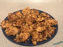 Пилешки филенца с корнфлейкс