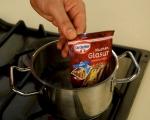 Ягодови мъфини с шоколадов пълнеж 6