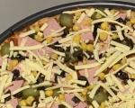 Пица с типово и пълнозърнесто брашно 3
