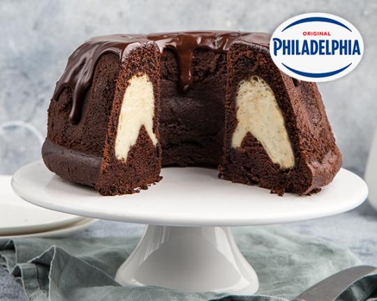 Шоколадов кекс с Philadelphia
