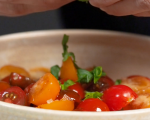 Чийзкейк с чери домати и крем сирене Philadelphia с билки  11