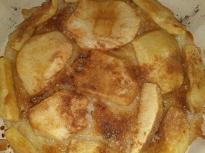 Тарт с ябълки