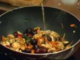 Пиле с череши в марулени лодчици 3
