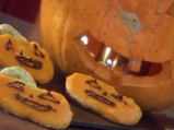 Усмихнати бисквити с тиква