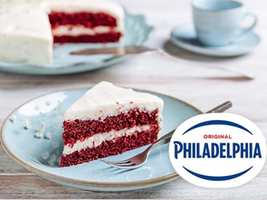 Торта червено кадифе с крем сирене Ph...