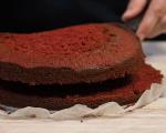 Торта червено кадифе с крем сирене Philadelphia 11