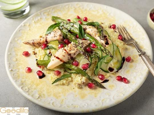 Арабска салата с пиле и булгур