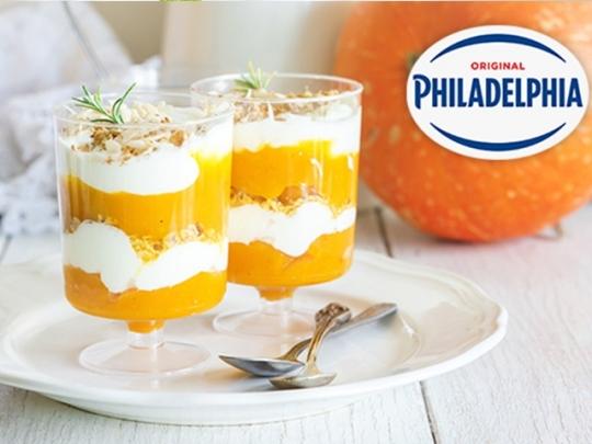 Десерт с тиква и Philadelphia