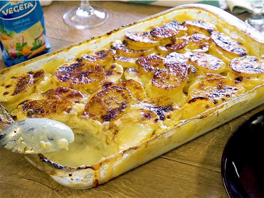 Картофи фрикасе