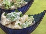 Картофена салата със заливка от тофу