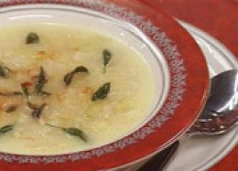 Целинова супа с кашкавал