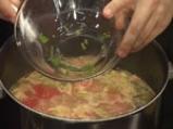 Супа от бамя с царевица и домати 3