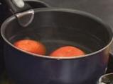 Карфиолено пюре с миди и доматен винегрет с бира 3