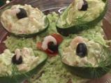 Салата със скариди и авокадо