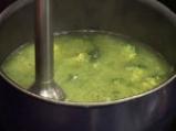 Супа с броколи, праз и печурки 3