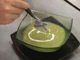 Супа с броколи, праз и печурки 4