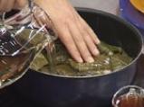 Рибно филе в лозов лист 2
