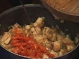Пълнена тиква със свинско и царевица 4