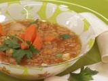 Супа от оранжева леща