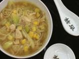 Пилешка царевична супа с фиде