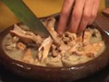 Сач от свинско месо със задушени зеленчуци 4