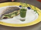 Ципура на фурна със зелен сос 4