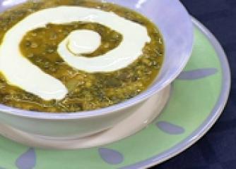 Супа дал със спанак