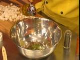 Крем супа от праз с босилкови крутони 3