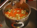 Зеленчукова супа с интегрален ориз