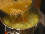 Зеленчукова супа с интегрален ориз 2