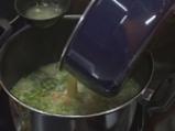 Супа от грах с карамелизирани ребърца 4