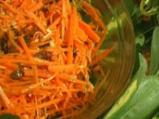 Салата от моркови и кимионова заливка