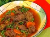 Телешки кебап със зеленчуци