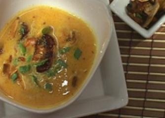 Тиквена тай супа