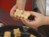 Супа с печурки и бутерки със сирене и спанак 6