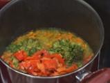 Супа от броколи с печени чушки 2