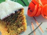 Кейк от моркови с ананас