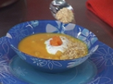 Морковена супа с нахут 4
