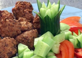 Бесами фрай (Пържени зеленчукови хапки)