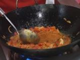 Карай мург хуриали (Пилешко с кашу и домати) 3